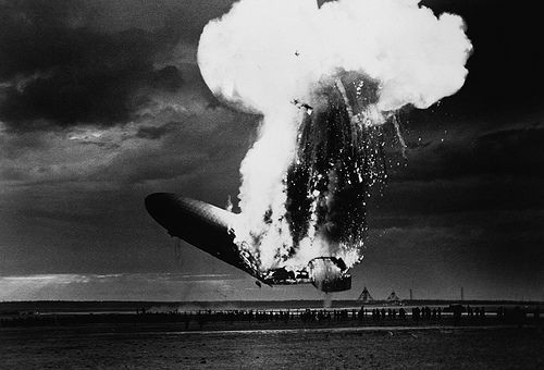 disaster | ... response from some people is to bring up the Hindenburg disaster