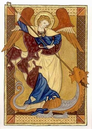 San Miguel Arcángel, de autor desconocido