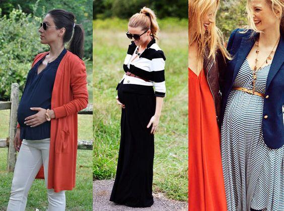 Deixe o pescoço livre durante a gravidez