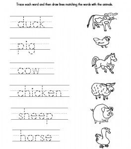 Printables Traceable Worksheets traceable farmer we also created a fun worksheet containing matching game it also