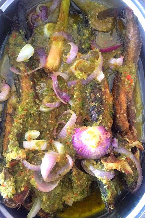Resepi Ikan Keli Goreng Sambal Berlada Hijau