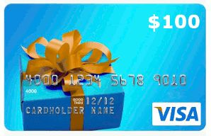 The Giveaway Center - $100 Visa Gift Card  Sweepstakes Prize  Enter to Win  $100 VisaGift Card  ARV: $100.00 Winners: 1Open to:  U.S.A  Canada  18 Expires: Friday Sep. 30 2016 Entry: 10x daily Type: giveaway widget