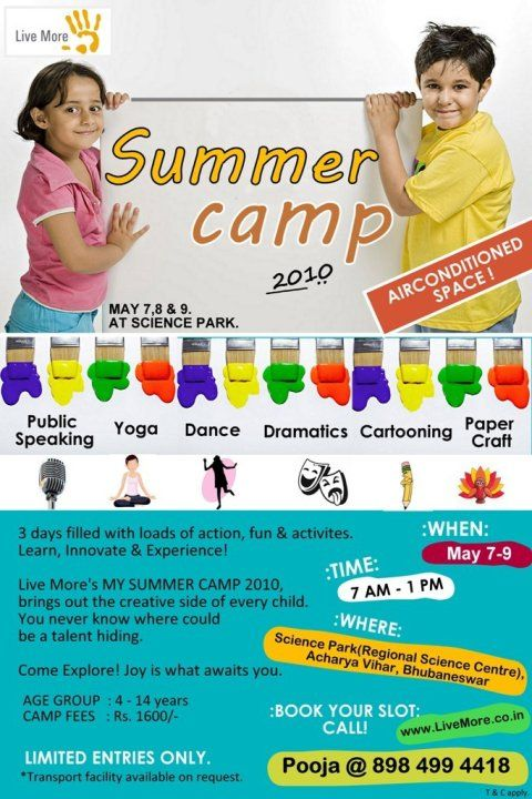 Summer Camp Posters For Kids Summer Camp Posters For Kids  Mac