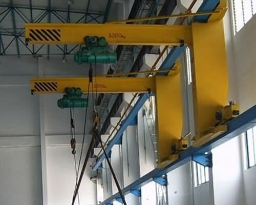 Ellsen 5 Ton Wall Mounted Jib Crane For Sale Cranes For Sale Crane Concrete Posts