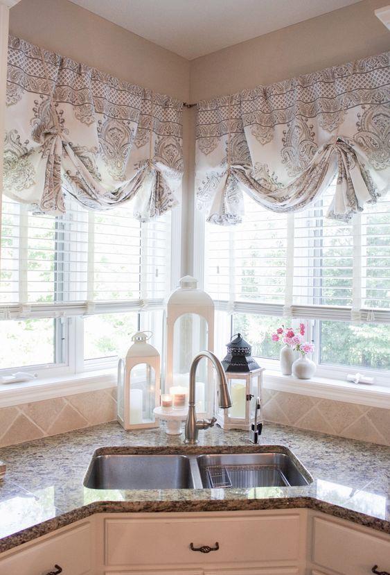 30 Stylish Kitchen Curtain Ideas 2020 For Stylish Kitchen