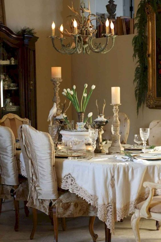 Beautiful french country dining room ideas (13) - HomeSpecially