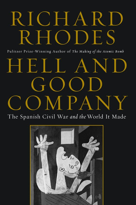 Giveaway of Hell and Good Company: http://theteddyrosebookreviewsplusmore.com/2015/02/giveaway-hell-and-good-companythe-spanish-civil-war-and-the-world-it-made-by-richard-rhodes.html#.VNJ0v03QOM8
