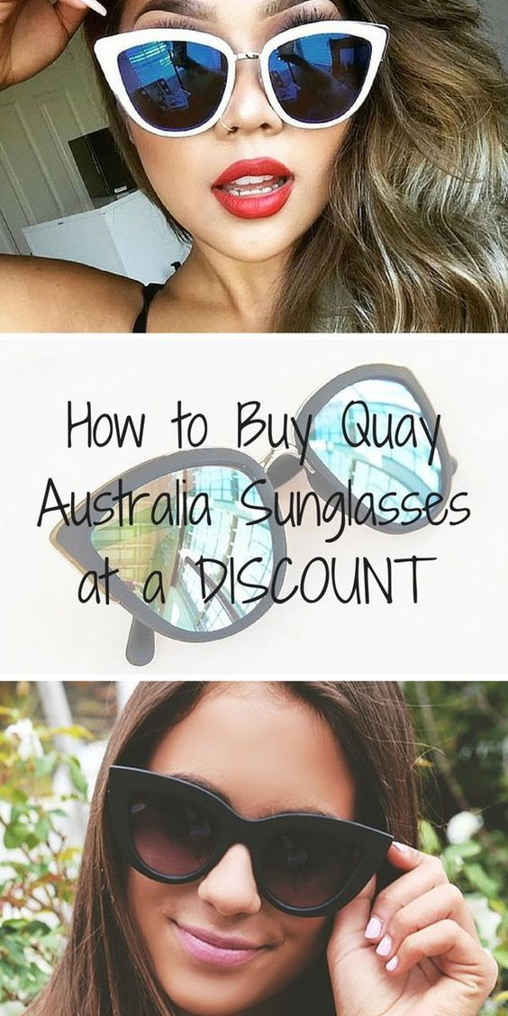 Get summer ready with brand new frames from Quay Australia! Shop one of the hottest sunglasses brands this season at discounts up to 70% off. Click the image to download the FREE app now, and take advantage of daily deals!