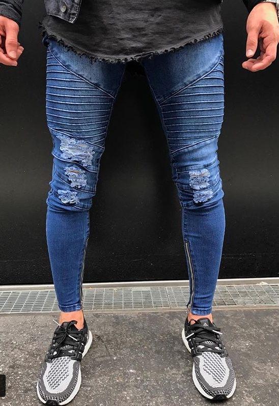 Pin De Tommy Andersson En Super Skinny Extreme Ropa Hipster Hombre Ropa Casual De Hombre Pantalones Rasgados De Hombre