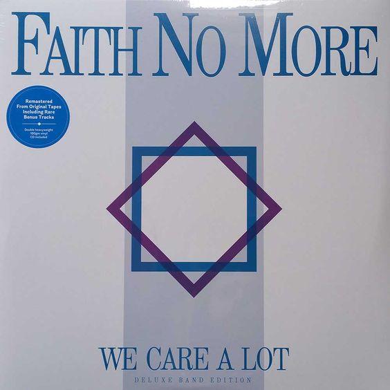 Faith No More – We Care a Lot (single cover art)