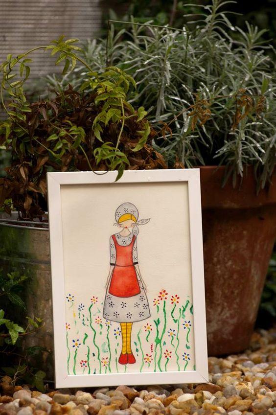 Lámina de la hija de la bailarina rusa entre nuestras plantas.