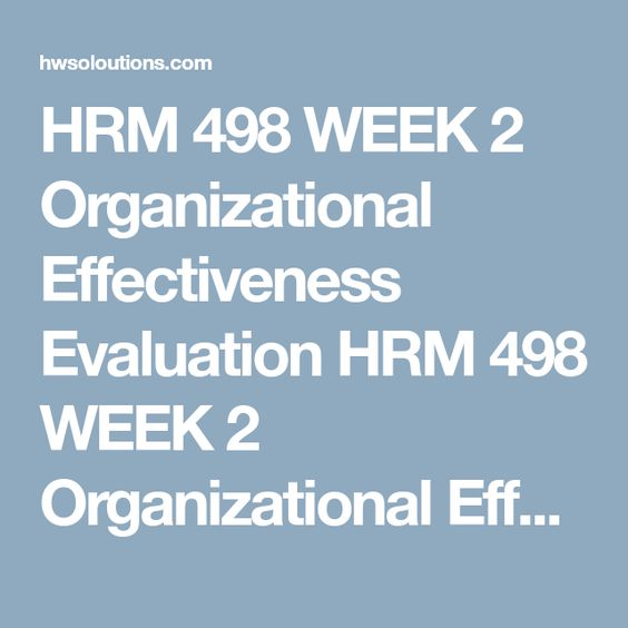 Hrm  Week  Hr Strategic Compensation Planning Process Design A