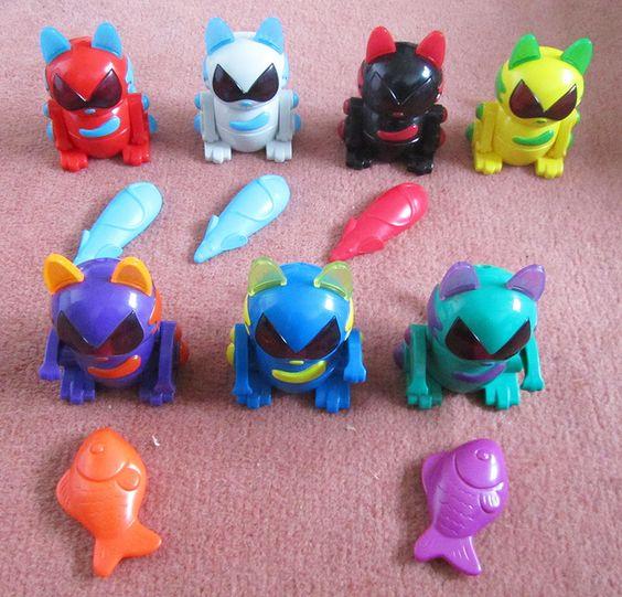 Robo Chi Robot Cats Mcdonalds 90 S 2000 S Childhood D
