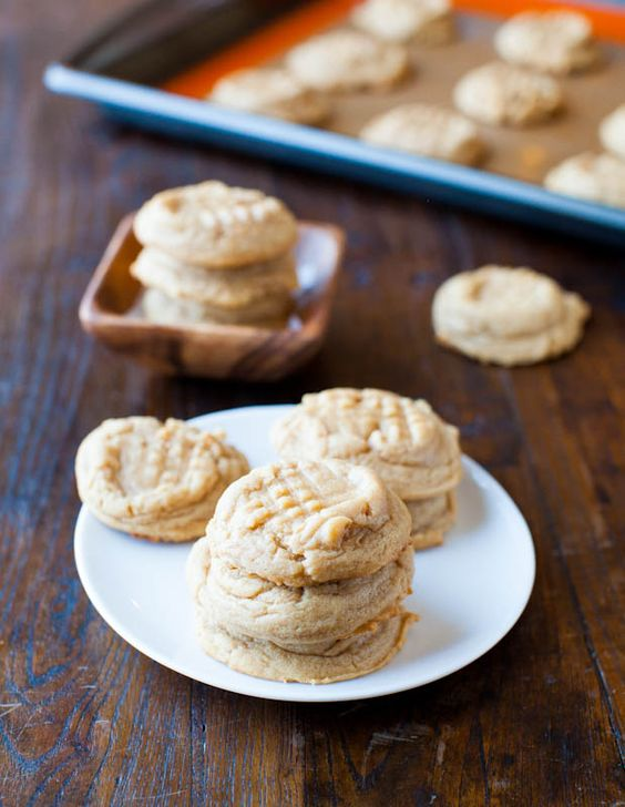 Unsweetened peanut butter cookies recipe
