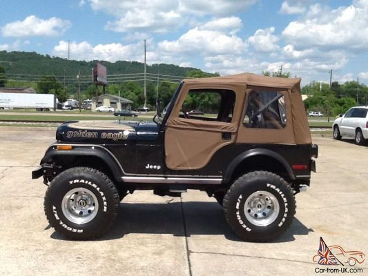 1980 Jeep Cj5 Golden Eagle Jeep Cj Jeep Cj5 Jeep Suv