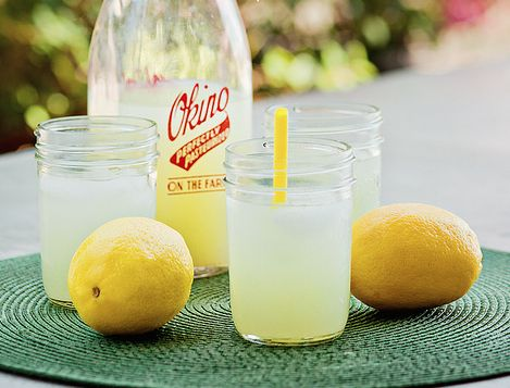 Mom's Lemonade. Deliciously sweet and tart. Click on photo, then once again in Yumgoogle to find the delicious recipe. =)