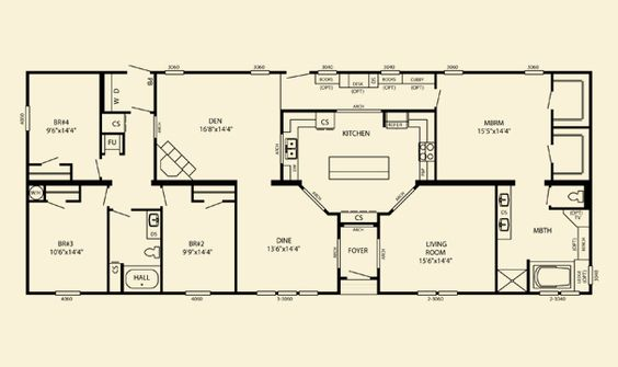 Pinterest the world s catalog of ideas for Southern energy homes floor plans