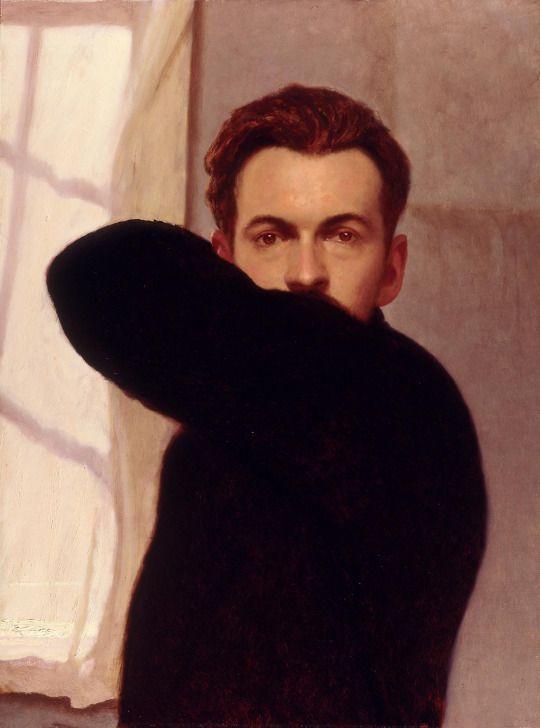 Bo Barlett, Self-Portrait (1996)