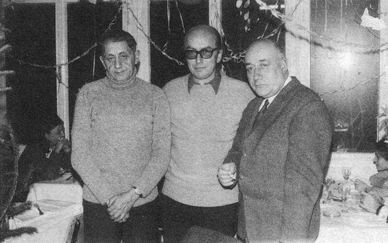 İlhan Berk, Edip Cansever, Salah Birsel
