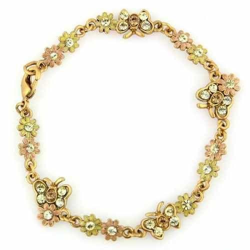 Springtime Enamels Butterfly Bracelet from 1928 Jewelry