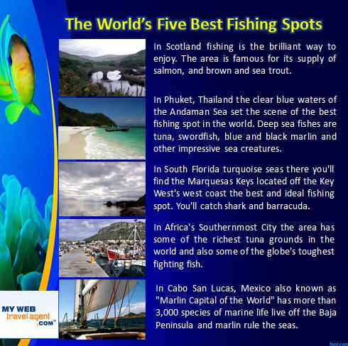 Here are some inspiring options for indulging a passion for fishing in beautiful locations Around the Globe. mywebtravelagent.com