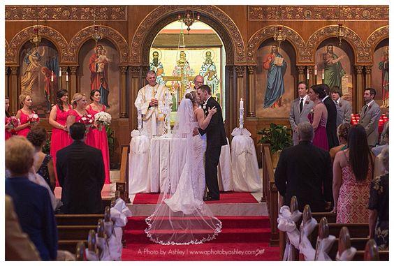 Greek Orthodox Church Wedding | Annunciation Greek Orthodox Church | Winston-Salem Wedding Photographer | A Photo by Ashley  |  North Carolina Wedding