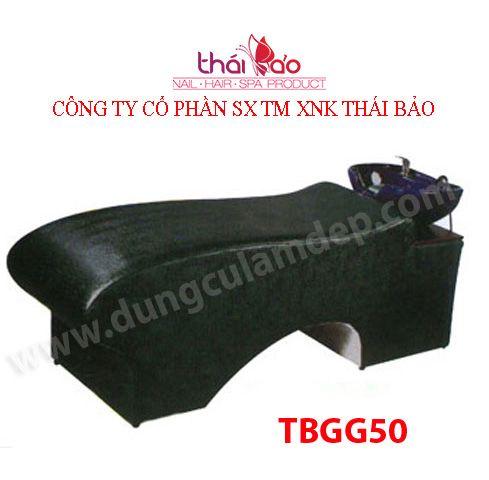 Giường gội đầu , ghế gội đầu , lavabo gội đầu , TBGG50