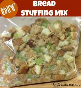 DIY Stuffing Mix {Freezable} - Coffee With Us 3