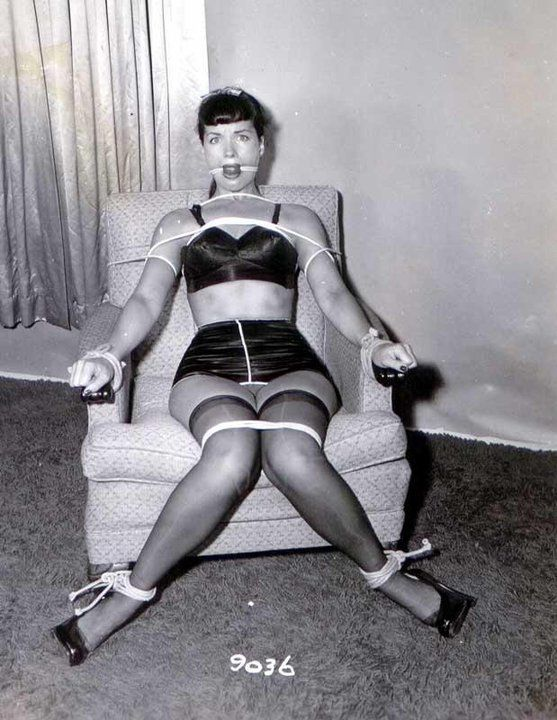 Betty Page Bondage 45