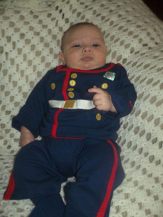 Dress Blues Baby 2 Piece Set | Kids | Sgt Grit - Marine Corps Store