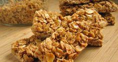 Barras de granola caseras   Adelgazar – Bajar de Peso