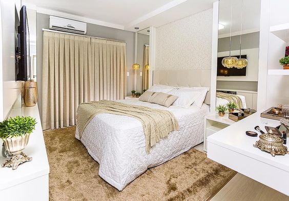 Projeto de reforma de quarto finalizado!!! Apartamento em Pato Branco - PR  #camilakistinteriores #decor #homedecoration #homedecor #homedesign #reforma by camikist http://discoverdmci.com