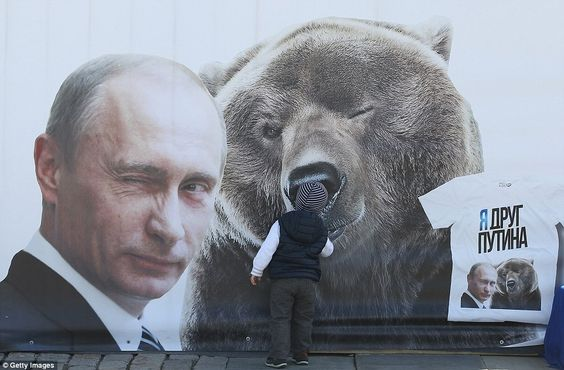 putin riding a bear - Google zoeken: