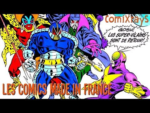 Les Comics made in France