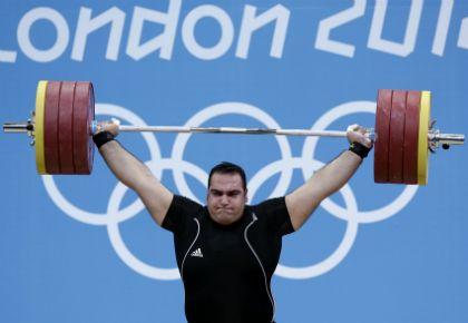 El hombre más fuerte en el Olimpo terrenal