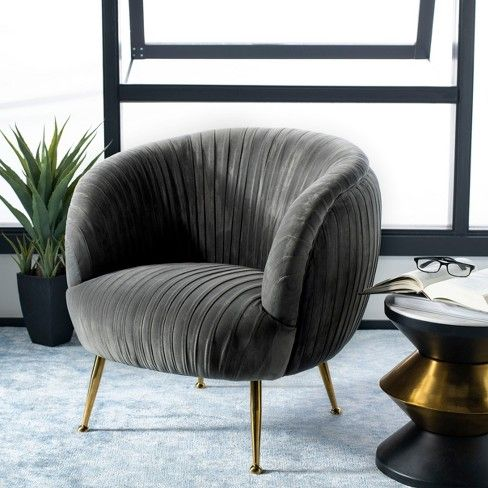 Ottillia Shell Accent Chair Safavieh Target Accent Chairs