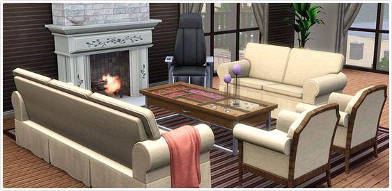 Sala Conforto Contemporâneo - Store - The Sims™ 3