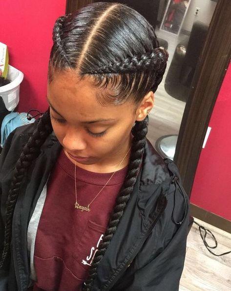 Beautiful Goddess Braids For Kids Goddess Braids Hairstyles Hair Styles Sleek Braid