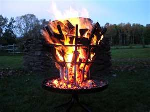Grate Wall of Fire | Fire Pit, Barbecue Grill