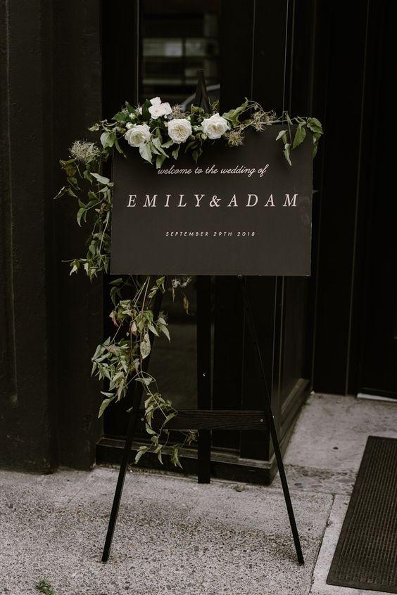 Offbeat Black Color Wedding Theme Ideas For Your Winter Wedding!!!, cc390d85d0abb531c2a3b5b920d3a93c