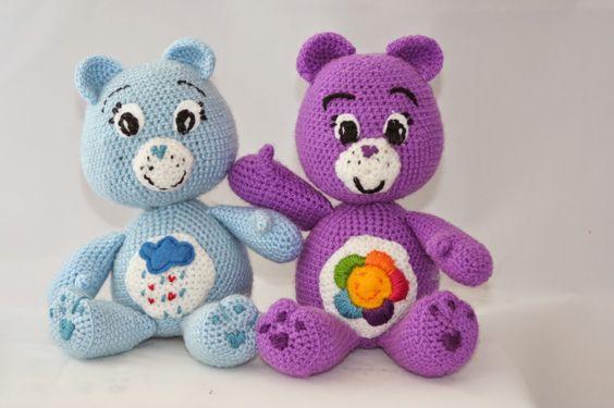 Crochet Care Bears free pattern: craftomama: Troskliwe misie