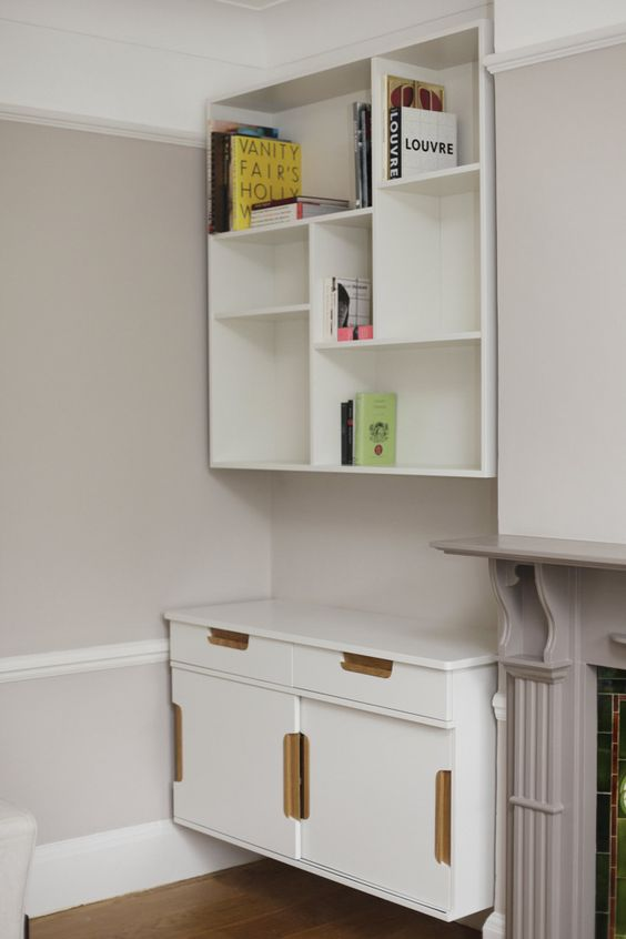 Wall mounted alcove storage - Stonermakes & Wall mounted alcove storage - Stonermakes | miniatures | Pinterest ...