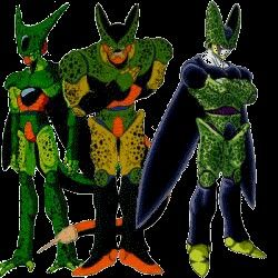 All cell forms | Dragon Ball Z!!!!! | Pinterest