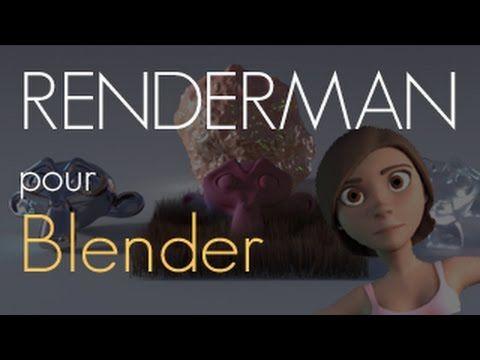 Renderman blender