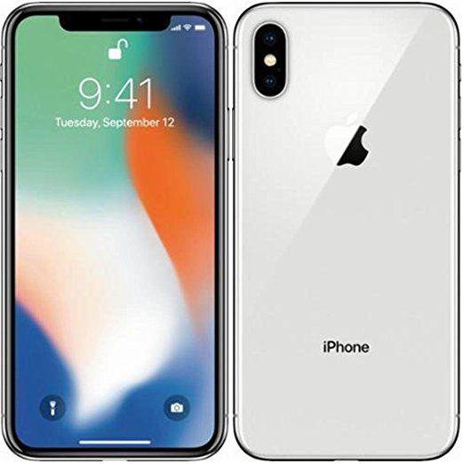 Apple Mqad2zd A Iphone X 14 7 Cm 5 8 Zoll 64gb 12mp Kamera Auflosung 2436 X 1125 Pixel Silber Apple Iphone Iphone Smartphone