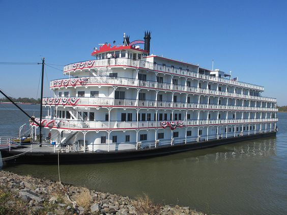The Queen Of The Mississippi Riverboat In Vacherie Louisiana  The Queen Of