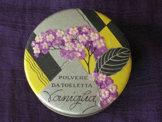 Vintage 1930's  Polvere Da Toeletta Face Powder