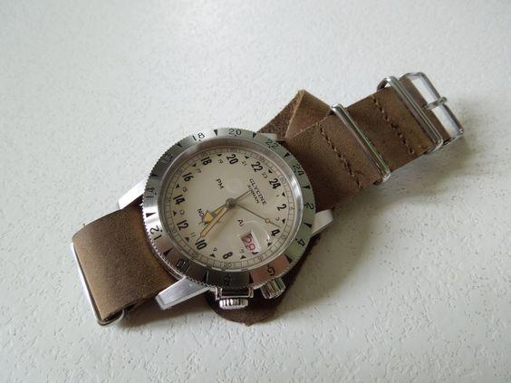 Glycine Airman 1953 (montre 24h)