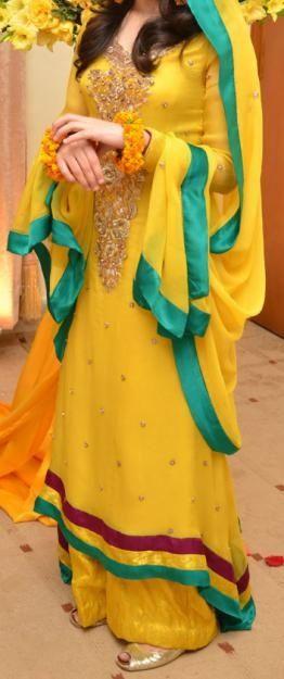 yellow long shirt pakistani