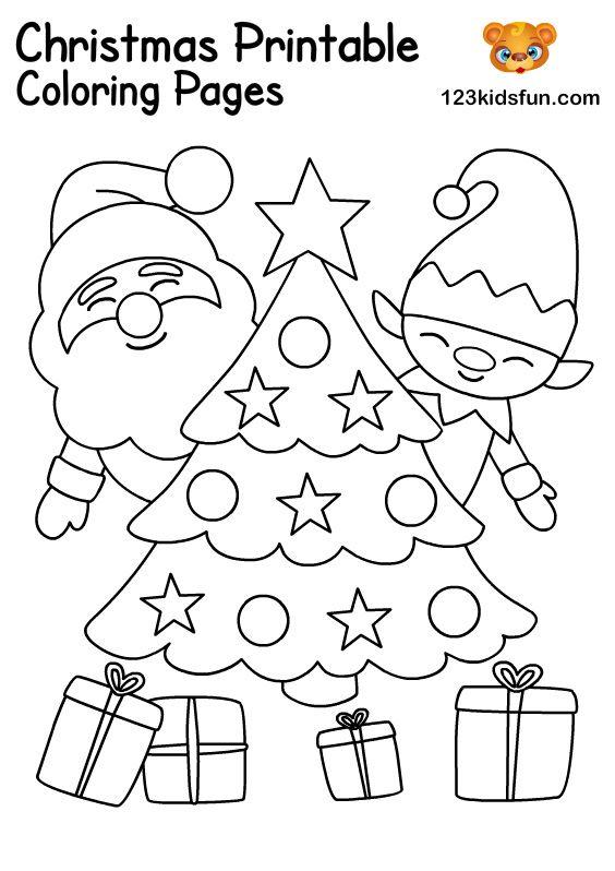 Free Christmas Printables For Kids 123 Kids Fun Apps Christmas Coloring Printables Christmas Coloring Books Christmas Coloring Printables Free